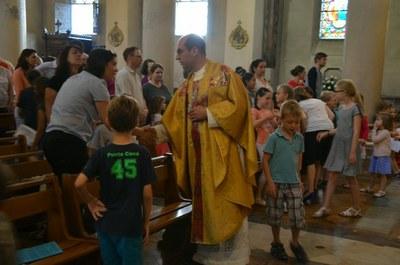 Messe de fin d'année de l'école de l'Immaculée Conception