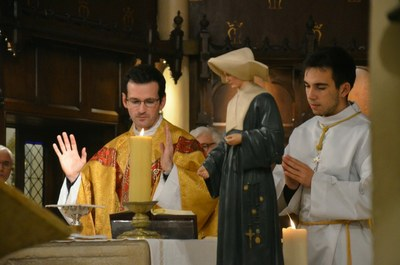 Inauguration solennelle de la statue de Sainte Catherine Labouré