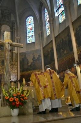 Installation du Père Etienne Givelet et Rentrée Paroissiale