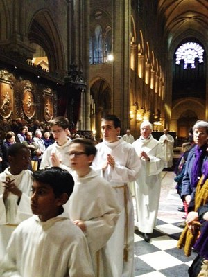 Pèlerinage année jubilaire Notre Dame de Paris le 2 avril 2016
