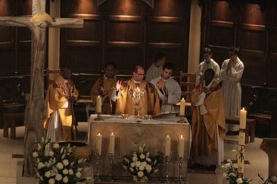 Messe avec la pastorale de la jeunesse