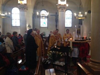 Messe avec les communautés religieuses