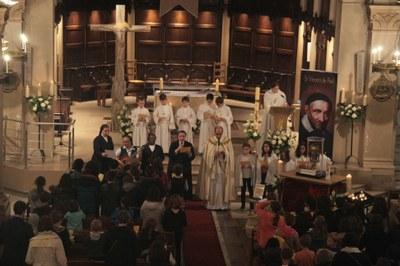 Messe avec les enfants du catéchisme