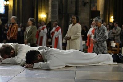 Ordination diaconale de David Nogueira et Thierry Prin