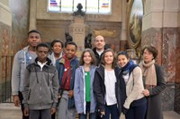 Appel décisif des catéchumènes collégiens et lycéens de notre paroisse en l'église saint Roch