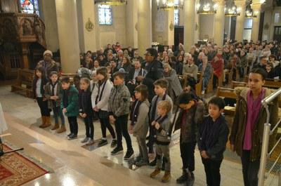 Scrutin pour les jeunes du catéchuménat