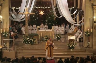 Messe de Noël des familles