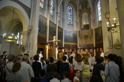 Messe des familles et bénédiction des mamans du 27 mai