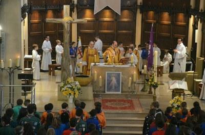 Messe des familles - 80 ans groupe scout Saint Philippe Neri