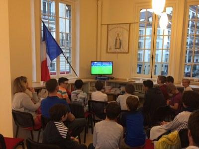 Soirée foot France Islande