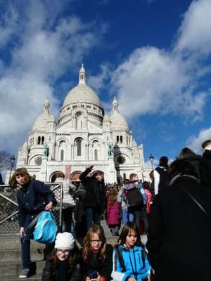 Pèlerinage au Sacré Coeur de Montmartre pour les enfants du CM1