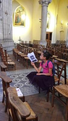 Sortie de fin d'année du catéchisme à Notre Dame du Perpétuel Secours