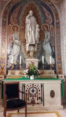 Visite de la chapelle de la Médaille Miraculeuse