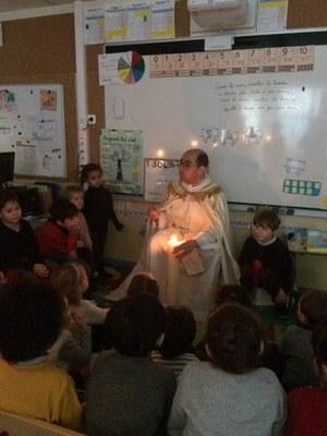 Chandeleur à l'école de l'Immaculée Conception