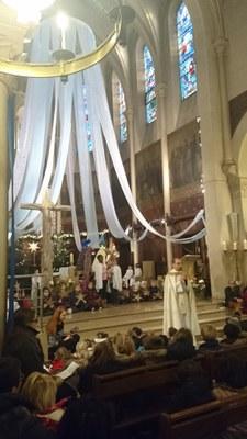 Célébration de l'Epiphanie pour l'école de l'Immaculée Conception