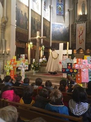 Célébration de Pâques de l'école de l'Immaculée Conception