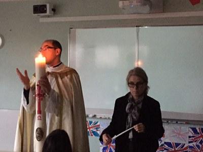 La Chandeleur à l'école de l'Immaculée Conception