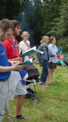 Messe du groupe scout Saint Philiippe Neri du samedi 25 juin