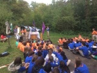 Messe scoute avec le groupe Saint Philippe Néri