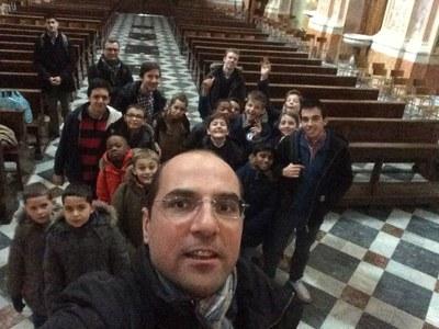 Pèlerinage à Bergame des servants de messe 25 février 2016