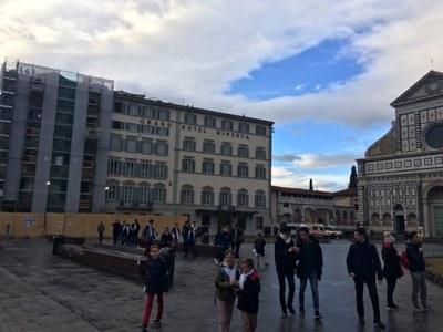 1er jour du pèlerinage des servants à Florence et Sienne