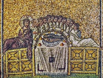 Mosaïque de la basilique de Saint Apollinaire le Neuf