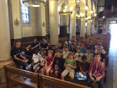 Réunion de rentrée du groupe Saint Tarcisius des servants de messe