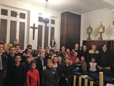 Réunion des servants de messe du 19 novembre