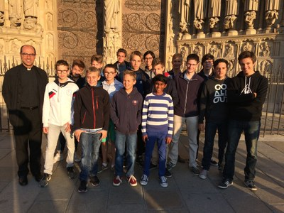 Soirée avec les chefs et les adjoints à Notre Dame de Paris