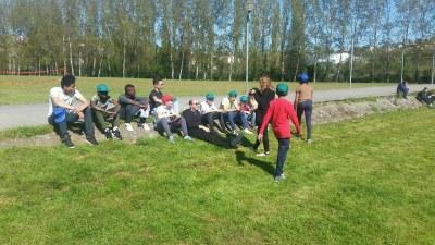 2ème jour du camp de l'aumônerie à Saint Laurent sur Sèvre en Vendée