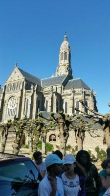3ème jour du camp de l'aumônerie à Saint Laurent sur Sèvre en Vendée