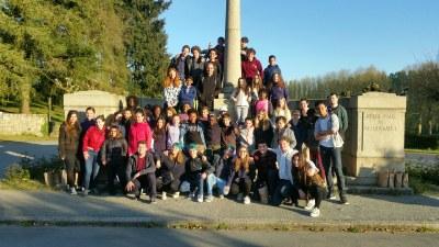 6ème jour du camp de l'aumônerie à Saint Laurent sur Sèvre en Vendée