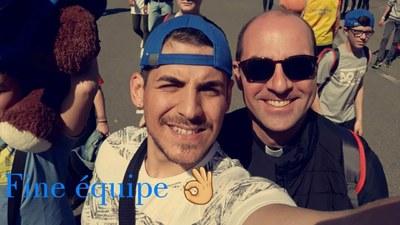 1er jour du FRAT de Lourdes