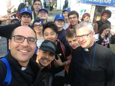 3ème jour du FRAT de Lourdes