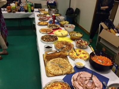 Messe et fête de fin d'année de l'aumônerie