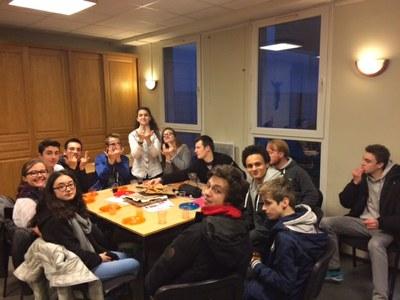 Première rencontre du Frat à Notre Dame de Bercy