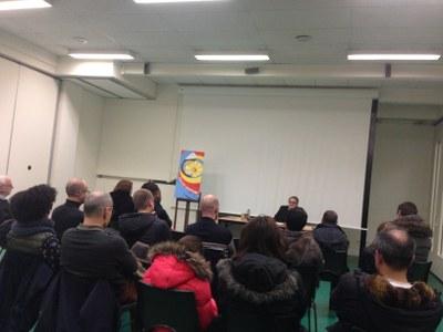Rencontre de Mgr Jérôme Beau, évêque auxiliaire de Paris avec les jeunes qui recevront la confirmation le 4 février prochain