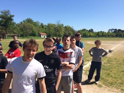 Tournoi de foot des Aumôneries de l'est parisien jeudi 5 mai 2016