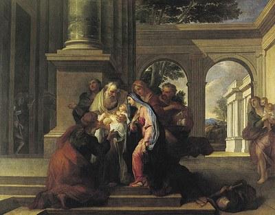 La Purification de la Vierge Gabriel Blanchard (1630-1704) Musée des Augustins